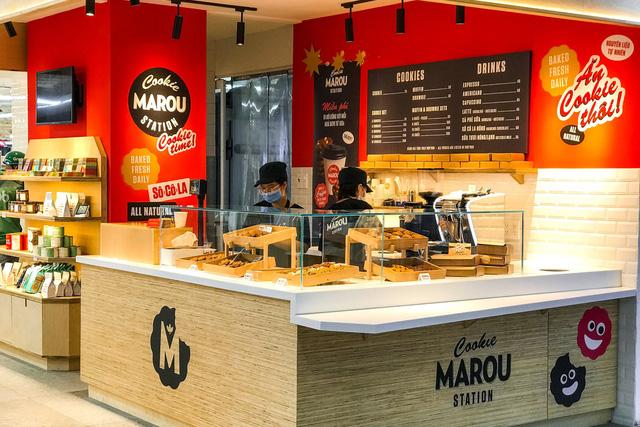 Một trong những cửa hàng của Marou