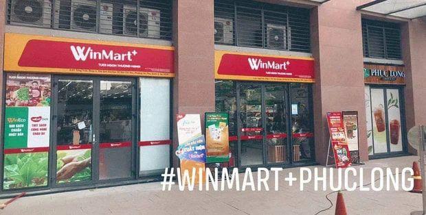 Biển hiệu Winmart mới
