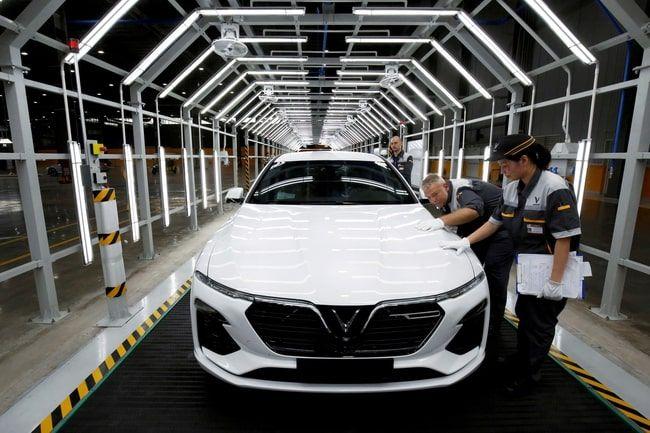 VinFast nhanh chóng gia nhập lĩnh vực xe điện và có mặt ở thị trường Châu Âu